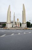 Democracy Monument in Bangkok, Thailand. At the morning royalty free stock images