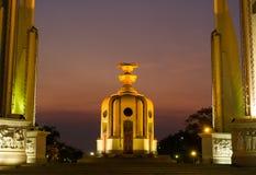 Democracy Monument bangkok thailand Stock Photo