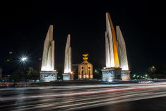 Democracy monument, Bangkok Royalty Free Stock Photo