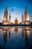 Democracy Monument. In Bankok, Thailand It's very importanat for thai people royalty free stock photos