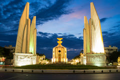 Democracy Monument. With blue sky stock photo