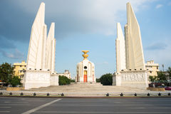 Democracy Monument. With blue sky royalty free stock images