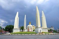 Democracy Monument at the center of bangkok, Thailand.  stock image