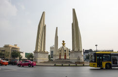 Democracy monument in the centre of Bangkok Stock Photography