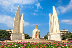 Democracy Monument. Democracy conservative illuminate one of the most important of the country stock image