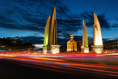 Democracy Monument. Is have many meaning to Thai people Royalty Free Stock Photography