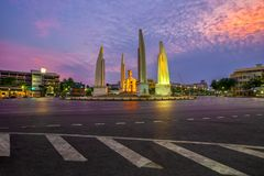 The Democracy Monument is a historical of constitution monument royalty free stock photos