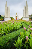 Democracy monument Stock Photo