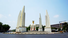 Democracy monument. Most visited tourist attraction place in Thailand Royalty Free Stock Photography