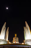 Democracy Monument at night Stock Photo