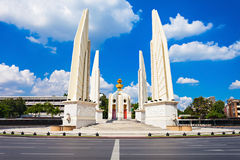The Democracy Monument. Is a public monument in the centre of Bangkok, capital of Thailand stock photo