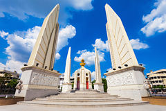 The Democracy Monument. Is a public monument in the centre of Bangkok, capital of Thailand stock image