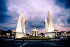 Democracy Monument. The Democracy Monument is a public monument in the centre of Bangkok, capital of Thailand stock images