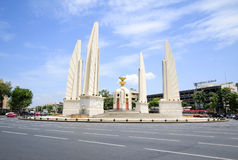Democracy Monument, Public Monument in Centre of Bangkok. Stock Image