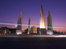 Democracy Monument at Ratchadamnoen Klang Road, Bangkok Thailand Royalty Free Stock Photo
