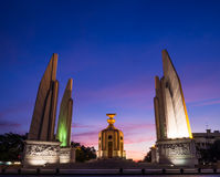 Democracy monument Thailand Stock Image