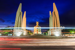 Democracy Monument ,Thailand. The Democracy Monument is a public monument in Bangkok, capital of Thailand Stock Photos