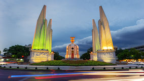 Democracy monument Thailand. Royalty Free Stock Photo