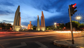Democracy Monument ,Thailand. The Democracy Monument is a public monument in the centre of Bangkok, capital of Thailand Royalty Free Stock Photography