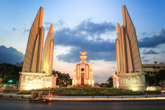 Democracy Monument and tuktuk Stock Images