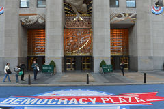 Democracy Plaza Royalty Free Stock Image