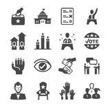 Democracy and Political icons. Flat Design Vector Illustration: Democracy and Political icons vector illustration