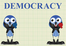 Democracy with politicians Stock Photo