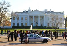 Democracy - White House, Washington America Royalty Free Stock Photography