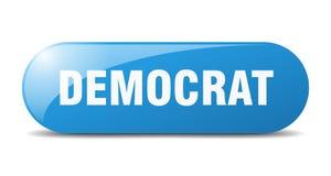 Free Democrat Button. Democrat Sign. Key. Push Button. Stock Photography - 180927112