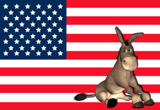 Democrat Donkey - 1 Stock Photo