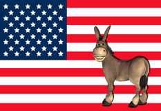 Democrat Donkey - 2 Royalty Free Stock Photo