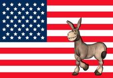 Democrat Donkey - 3 Stock Image