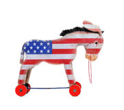 Democrat donkey. Royalty Free Stock Images