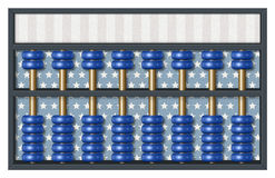 Democrat Election Abacus Stock Image
