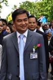 Democrat Party leader Abhisit Vejjajiva Royalty Free Stock Image
