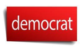 democrat sign royalty free stock photography