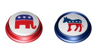 Democrat Vote Stock Image
