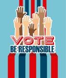 Democratic election Stock Photo