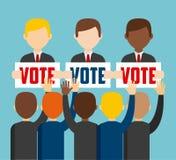 Democratic election Royalty Free Stock Image