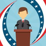 Democratic election Royalty Free Stock Photography
