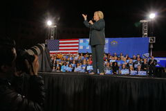 Democratic Presidential Candidate Hillary Clinton Campaigns In Las Vegas, Nevada Stock Photo
