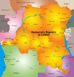 Democratic Republic of Congo Royalty Free Stock Photo