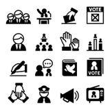 Democratiepictogram Stock Afbeelding