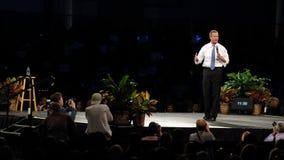 Democratisch presidentieel hoopvol Martin O'Malley spreekt in Des Moines, Iowa royalty-vrije stock fotografie