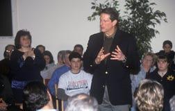 Democratische presidentiële kandidaat Al Gore Royalty-vrije Stock Foto's