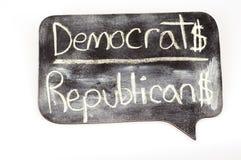 Democrats and Republicans Stock Image