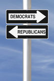 Democrats or Republicans Stock Photo