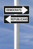 Democrats or Republicans Stock Photo