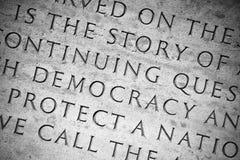 Democrazia Fotografie Stock Libere da Diritti