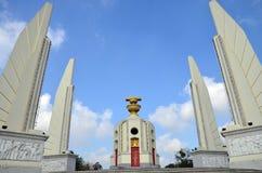 Democrazia del monumento e di quattro strutture del tipo di ala che custodicono la costituzione, rappresentante i quattro rami de Fotografia Stock Libera da Diritti